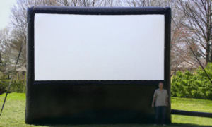 Advertising Inflatable Projection Screen for Outdoor
