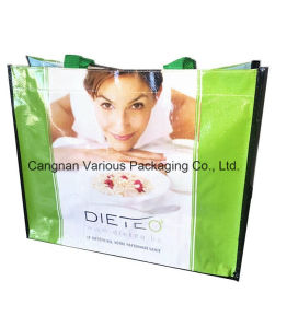 Customized Tote Ahopping Bag, PP Woven Printed Bag pictures & photos