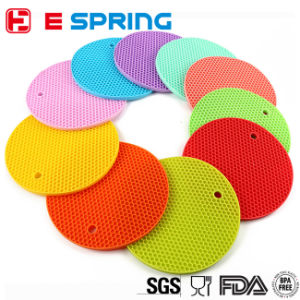 Kitchen Tools Heat Resistant Silicone Trivet Mat Pot Holder