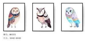 Home Decoration Owl Animal Wall Hanging Decorative Painting pictures & photos