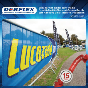 PVC Vinyl Laminated / Coated Printable Mesh Banner for Wall Graphics pictures & photos