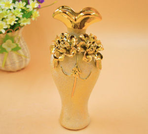 DIY European Fashion Ceramic Flower Vase Home Decoration Small Ceramic Vases pictures & photos