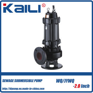 High Quality Cast Iron Electrical Submersible Sewage Water Pump (WQ15-15-1.5) pictures & photos