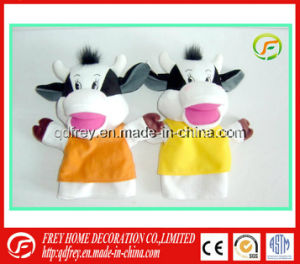 OEM Supplier for Plush Toy of Hand Puppet Cow Toy pictures & photos