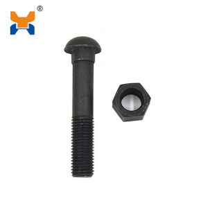High Quality Carbon Steel Track Bolt Rail Fish Bolt and Nut