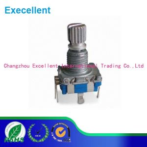 11mm Rotary Encoder with Push-on Switch SMT Type