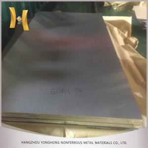 GB Standard 5083 5754 6061 6063 6082 T6 T651 Aluminum Sheet for Mould pictures & photos