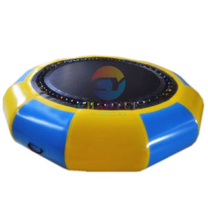 Inflatable Water Bouncer Trampoline for Water Sports Game pictures & photos