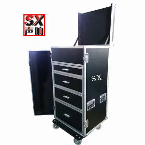 Drawer Flight Case with 4u Space