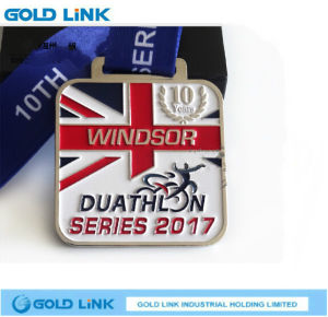 Square Running Medal Custom Marathon Medallion Race Finisher Award pictures & photos