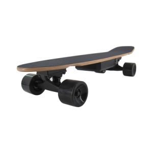 Electric Four Wheels Skateboard with Dual Hub Motor