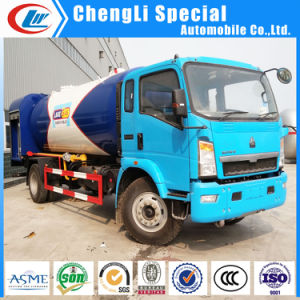 10tons LPG Auto Gas Tank Filling Skid Station for Nigeria Market pictures & photos