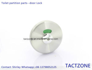 Manufacturer Ordinary Stainless Steel Toilet Partition Cubicles Door Lock pictures & photos