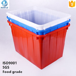 c78544e86c06 200litre Nestable Big Plastic Container Box for Clothing and Transport