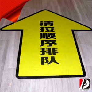 Advertising Adhesive PVC Floor Decals Floor Decal Sticker (FLD-01) pictures & photos