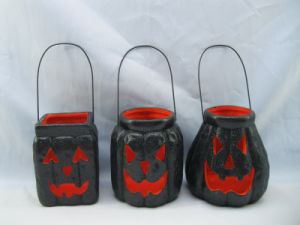 Halloween Pumpkin Ceramic Arts and Crafts (LOE2379-D13z)