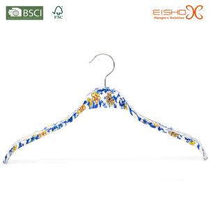 Hanger with Design of Blue and White