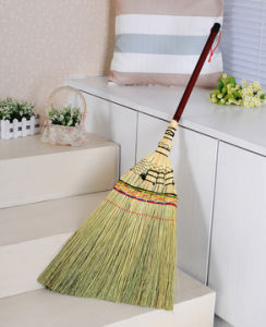 China Factory Wholesale Floor Cleaning Japanese Corn Broom - China