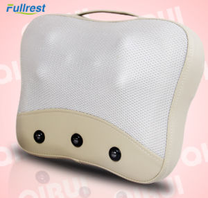 Electric Shiatsu Neck Back Massage Pillow with Heat pictures & photos