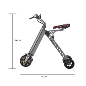 The Lightest Three Wheel Portable Electric Folding Bicycle