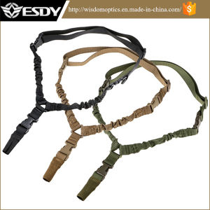 Tactical Airsoft Multi Mission Adjustable 1 Point Rifle Sling pictures & photos