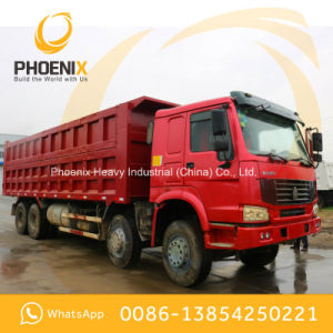 Low Price Used HOWO Dump Truck Tipper 371HP 8X4 with Excellent Condition and Best Price pictures & photos