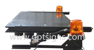 Optraffic Top Quality Actuator Lifting Vehicle Mounted Arrow Sign, Flashing Arrow Sign, LED Flashing Arrow Sign pictures & photos