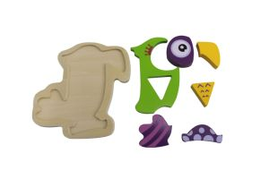 Wooden Parrot Puzzle Toy for Kids and Children pictures & photos