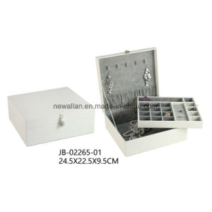 Elegant Gift Packing Storage Display Beuaty Jewelry Case Jewellery Box