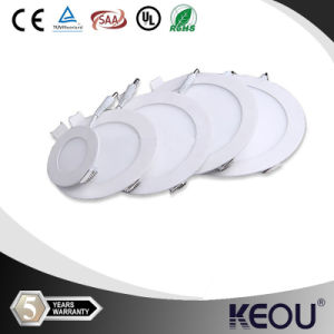 Low Price Slim Round Recessed LED Panel Light pictures & photos