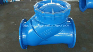 Pn10 Epoxy Coating Flange Ball Check Valve pictures & photos