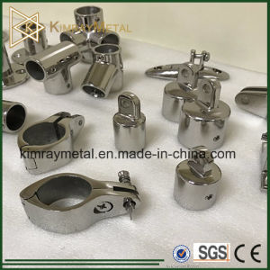 Stainless Steel Top Cap in Stair Fitting