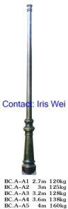 Outdoor Street Lighting Pole (BC. A-A1---A5)