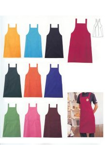 Pinafore for Cooking, Hot Style Apron Clothes Pinafore-02 pictures & photos