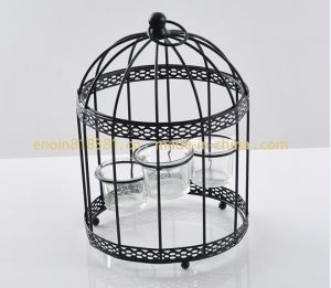 Bird Cage Metal Candle Holder (EN-CH1311)