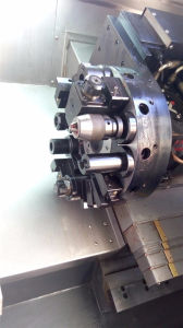 High Quality CNC Lathe with Milling Tool (CK6440) pictures & photos