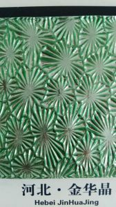 5mm Green Nano Patterned Glass pictures & photos