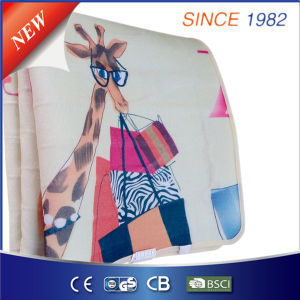 Comfortable Newest Printing Polyester Electric Under Blanket with Auto Timer pictures & photos