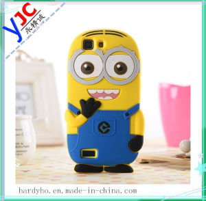 Hot Sale Cartoon Phone Silicone Rubber Cover