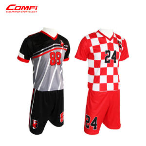 online retailer 299d2 453bd Cheap Custom Blank Sublimation Soccer Jersey Kit Uniform