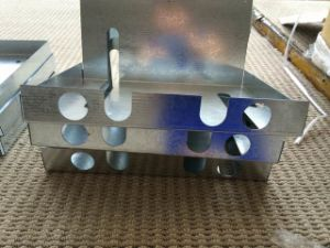 Custom Stainless Steel Galvanized Sheet Metal Boxes pictures & photos