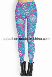 Abstract Geo Leggings with Elasticized Waist pictures & photos