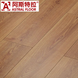 Wholesale Eir Surface (V-groove) 12mm Plywood Laminate Flooring (AM1606) pictures & photos