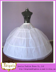 Floor Length Ball Gown Wedding Dresses Petticoats Petticoat for Women Dress (MI 3573)