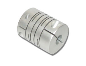 Aluminum Alloy Parallel Coupling Shaft Coupling (Clamp type, OD12 L18)