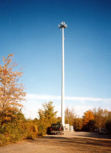Monopole Steel Tower for Lighting pictures & photos