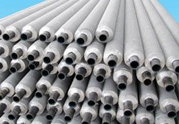 High Quality Carbon Steel Tube with Extruded Aluminum Fins, Finned Tube