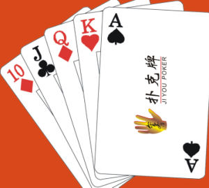 Personalized Playing Cards/ Customized Poker Cards with Logo pictures & photos