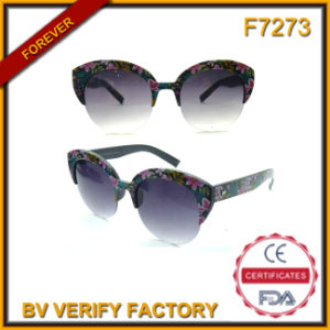 F7273 China Wholesale Fashion Women Sunglasses pictures & photos