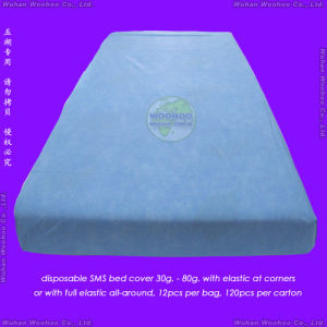 Nonwoven/PP/SMS/Surgical/Hospital/CPE/PE/PVC/Comforter/Duvet/Pillow Case/Mattress/Medical Disposable Bed Sheet/Bedspread, Disposable Quilt, Disposable Bed Cover pictures & photos